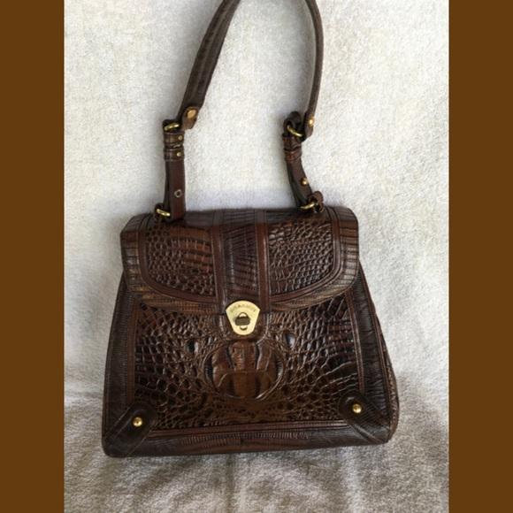 Brahmin Handbags - Brahmin Brown Shoulder Bag